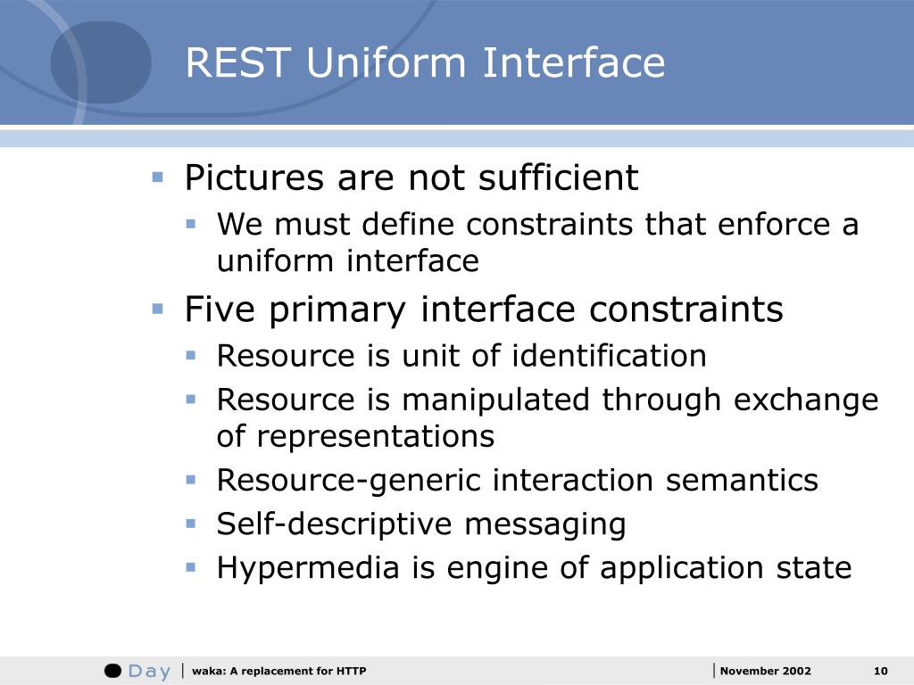 REST Uniform Interface