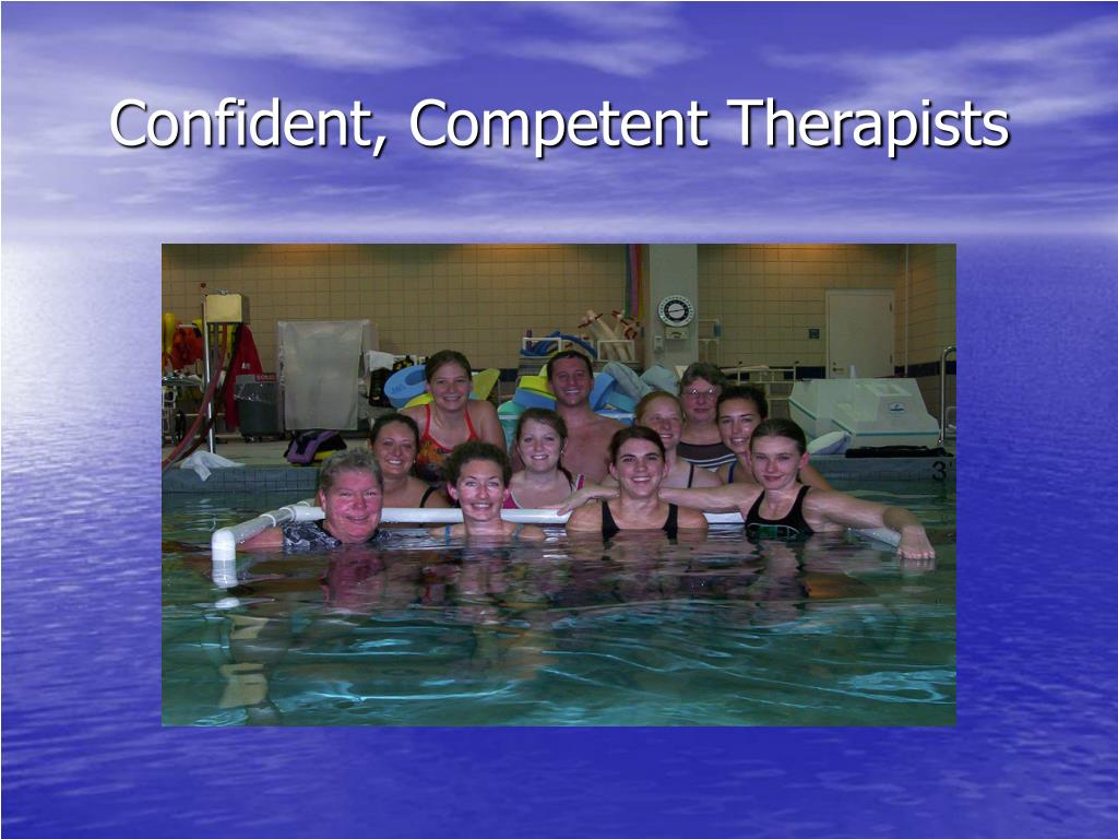 Confident, Competent Therapists