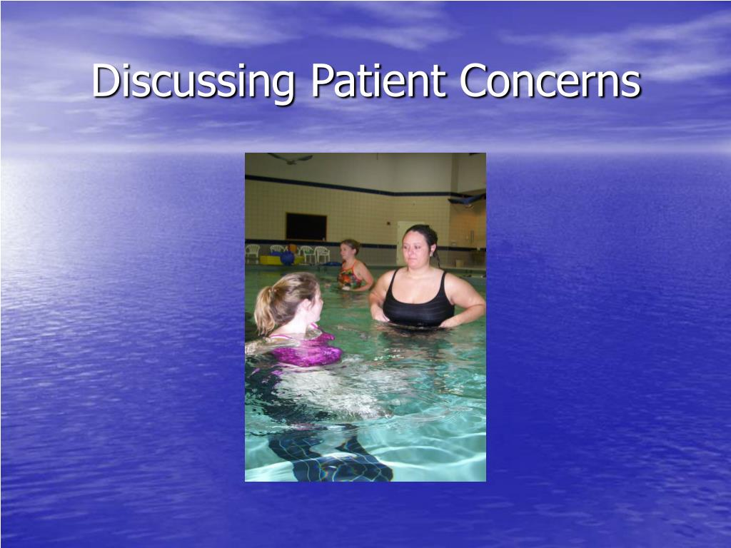 Discussing Patient Concerns