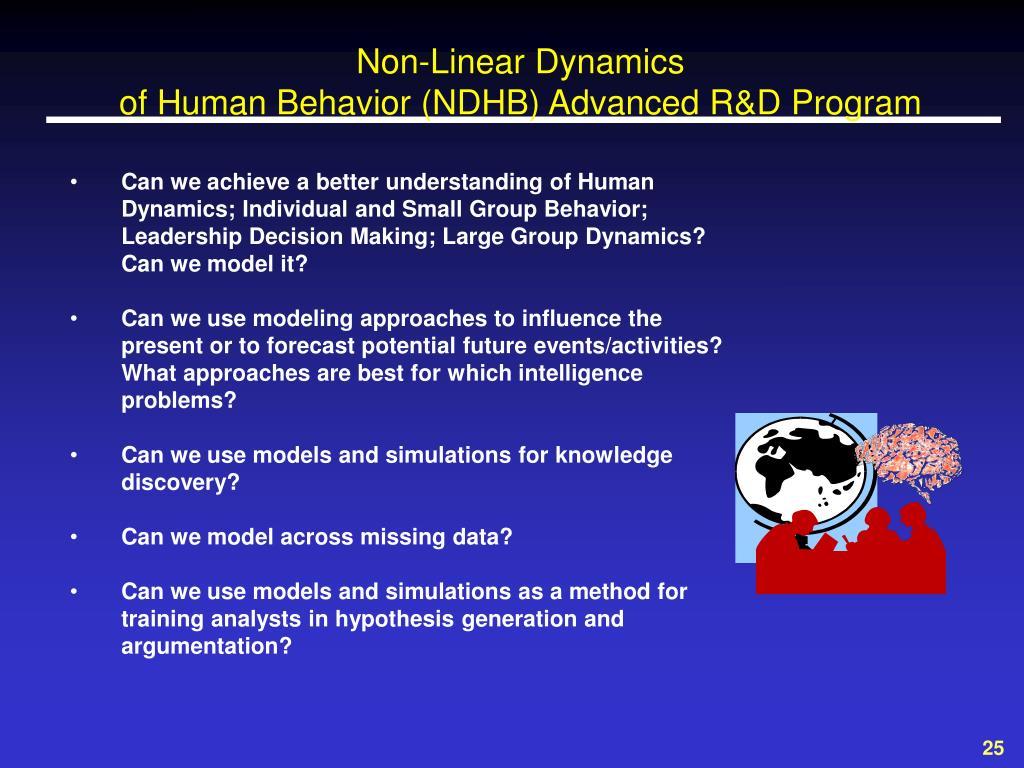Non-Linear Dynamics