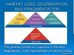 habitat loss degradation and fragmentation16