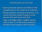 overexploitation