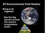 ap environmental field studies27