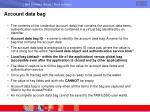account data bag
