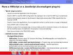 runs a vbscript or a javascript accessagent plug in53