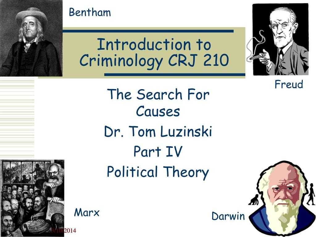 introduction to criminology crj 210 l.
