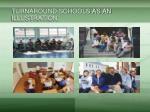 turnaround schools as an illustration