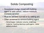 solids composting
