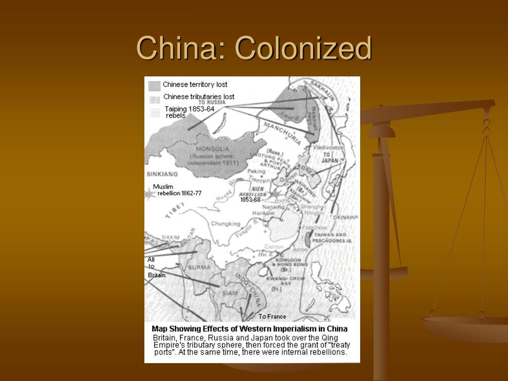 China: Colonized