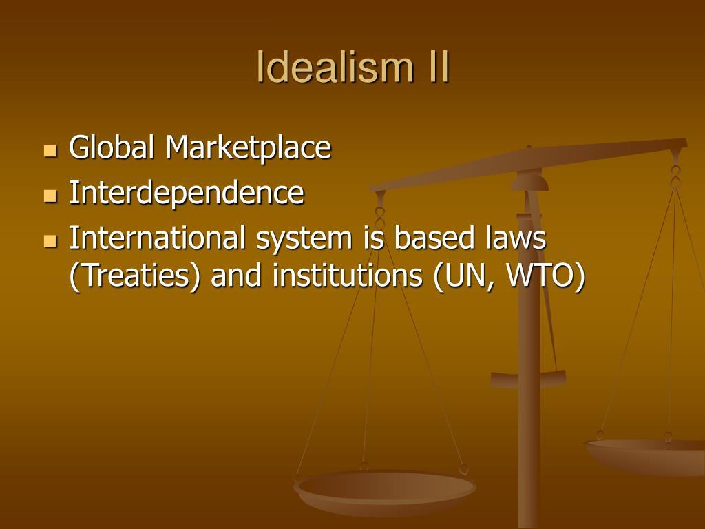Idealism II