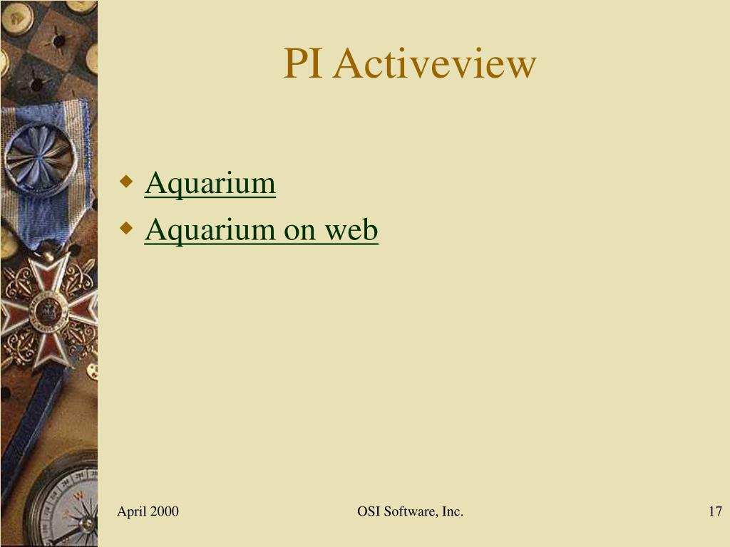 PI Activeview
