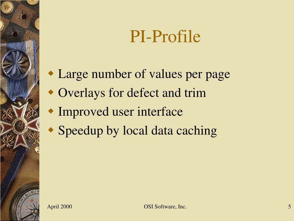 PI-Profile
