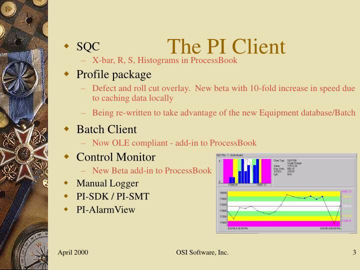 The PI Client