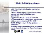 main p rnav enablers