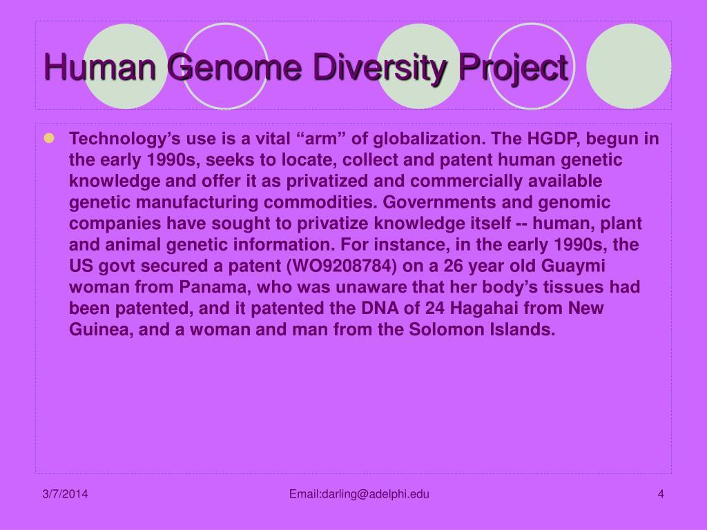 Human Genome Diversity Project