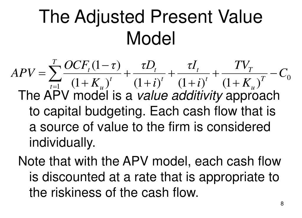 The Adjusted Present Value Model