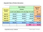 expected value of perfect information14