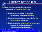 privacy act of 197419