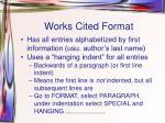 works cited format1