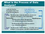 what is the process of data analysis