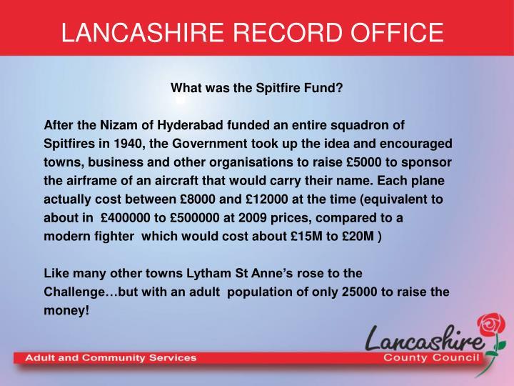 Lancashire record office2