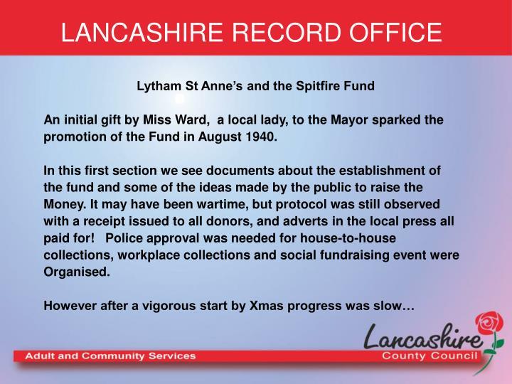 Lancashire record office3