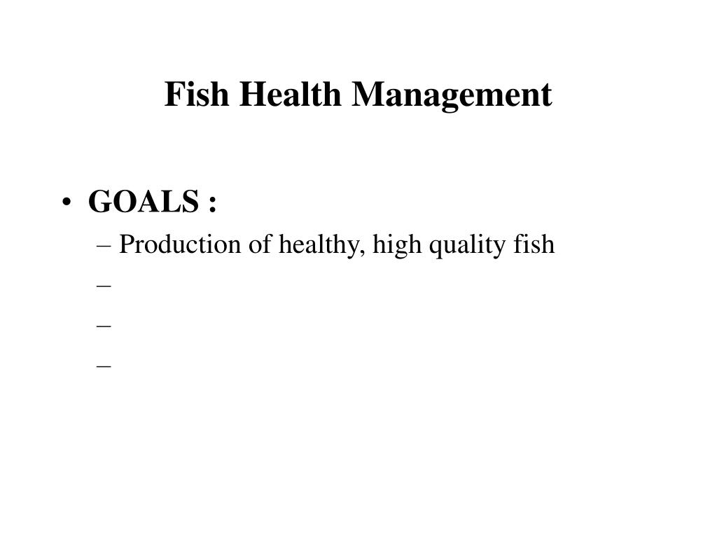 fish health management l.