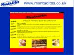 www montaditos co uk
