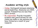 academic writing style51
