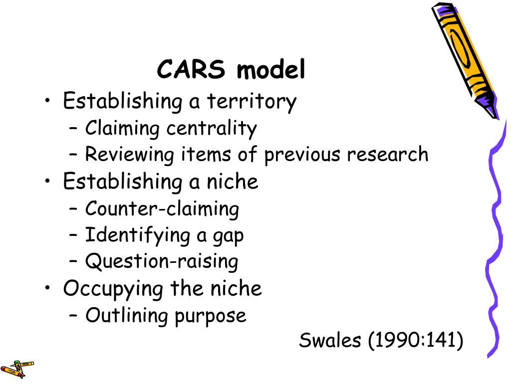 CARS model