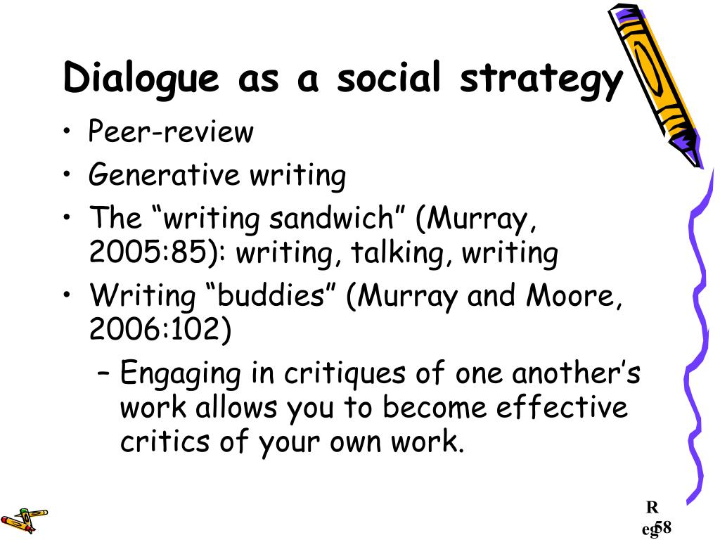 Dialogue as a social strategy