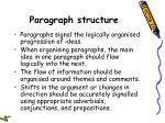 paragraph structure34