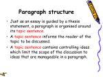 paragraph structure35