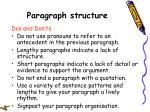 paragraph structure46
