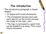 the introduction17
