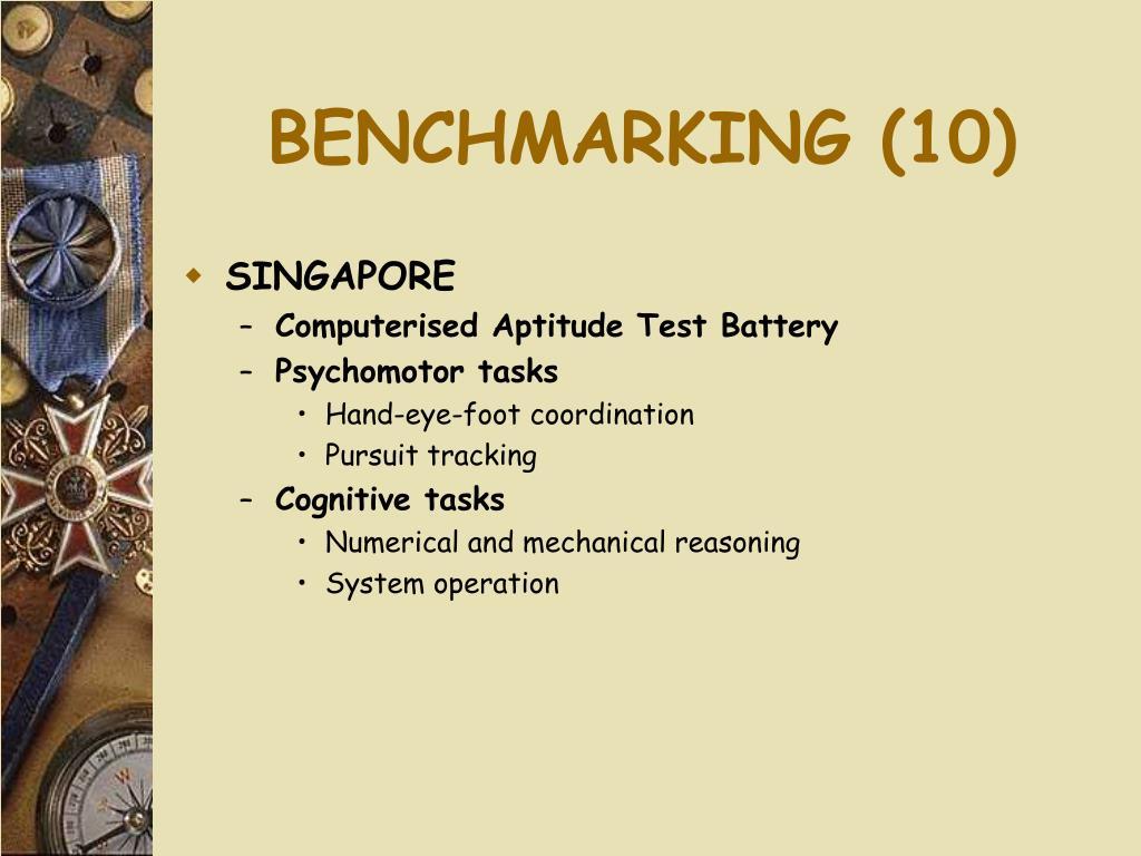 BENCHMARKING (10)