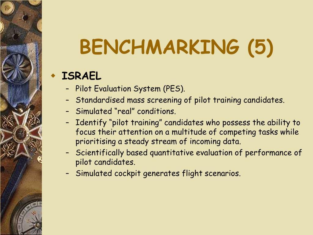 BENCHMARKING (5)
