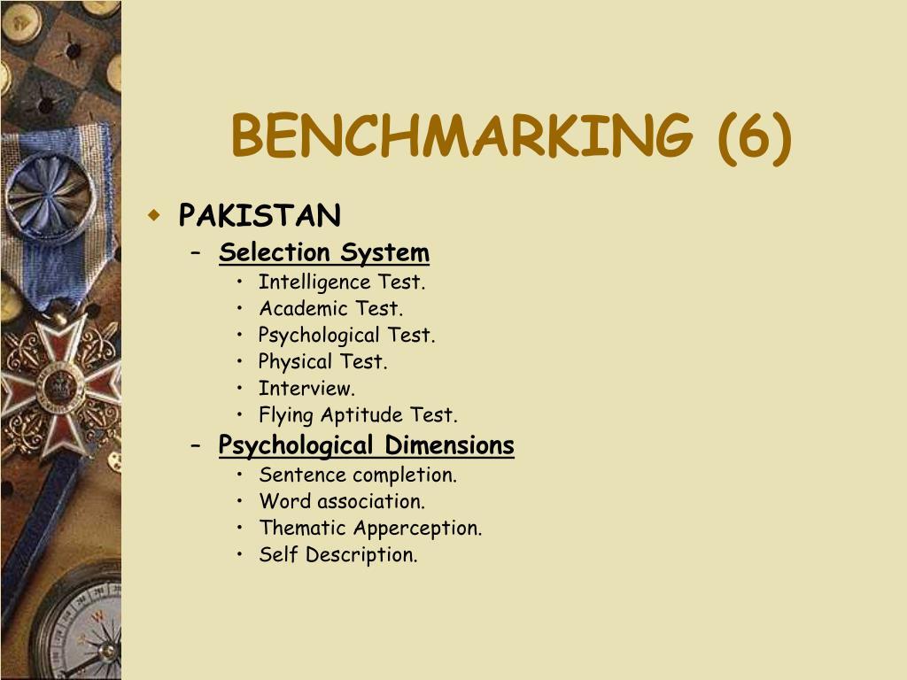 BENCHMARKING (6)