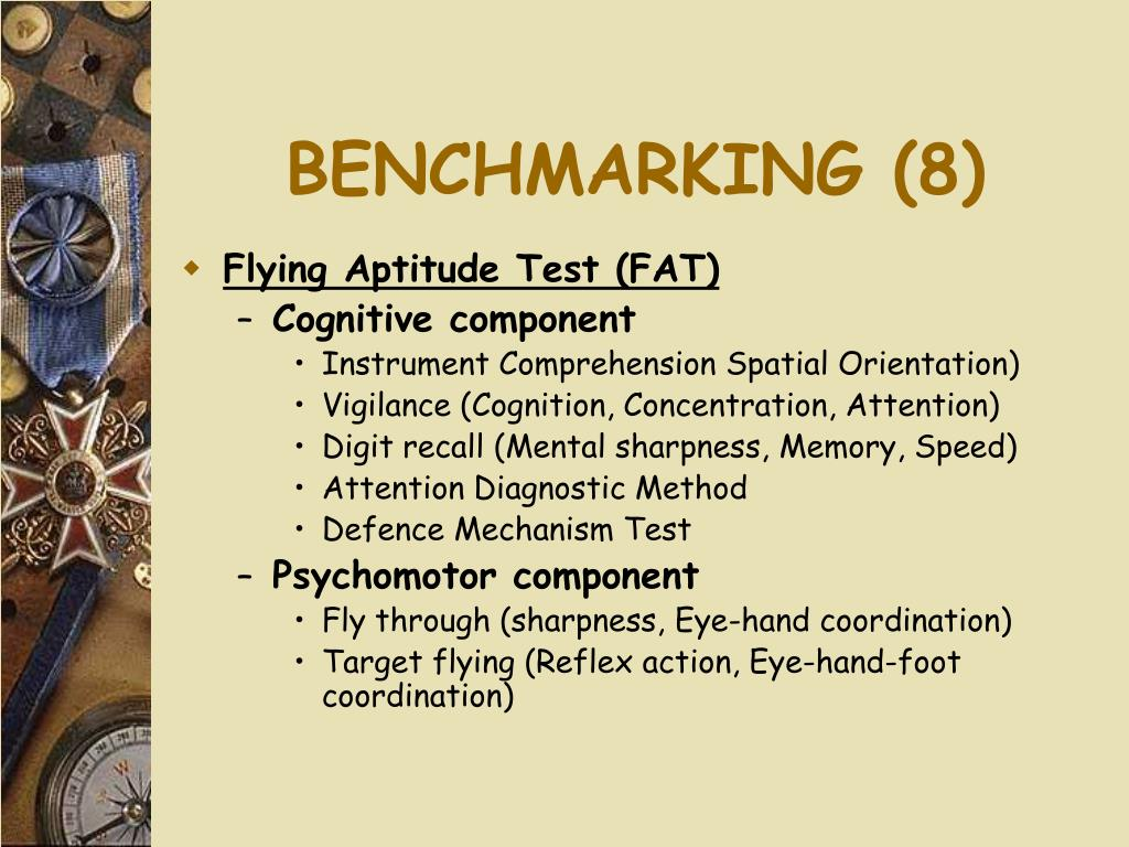BENCHMARKING (8)