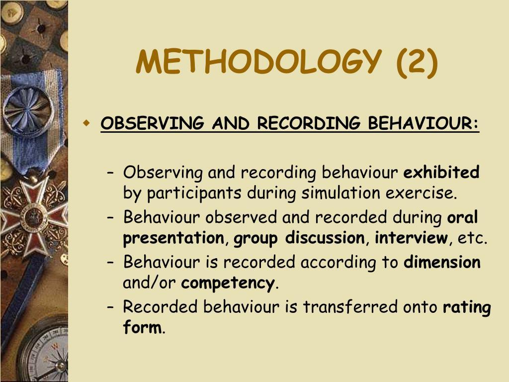 METHODOLOGY (2)