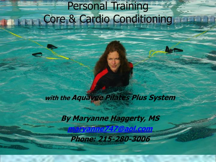 Personal training core cardio conditioning