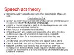 speech act theory28