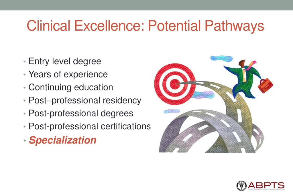 Clinical Excellence: Potential Pathways