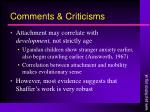 comments criticisms9