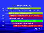 aqa and citizenship