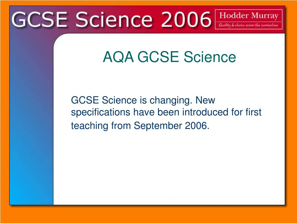 aqa science gcse coursework New grade 9-1 gcse combined science: aqa revision guide with online edition - higher (sahr45) for the new grade 9-1 science gcses bang up to date for the new grade 9-1 aqa trilogy specification, this new revision guide is the.