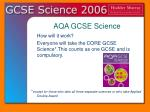 aqa gcse science3