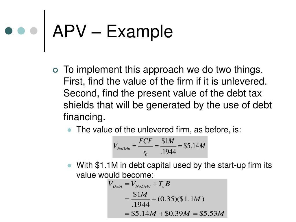 APV – Example