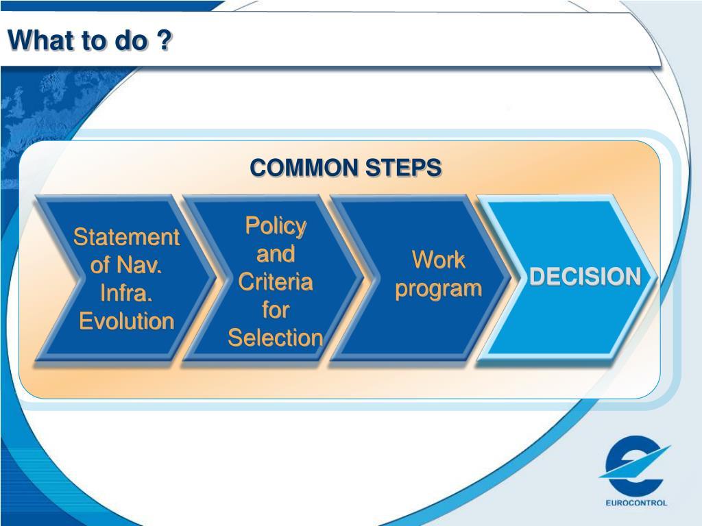 COMMON STEPS