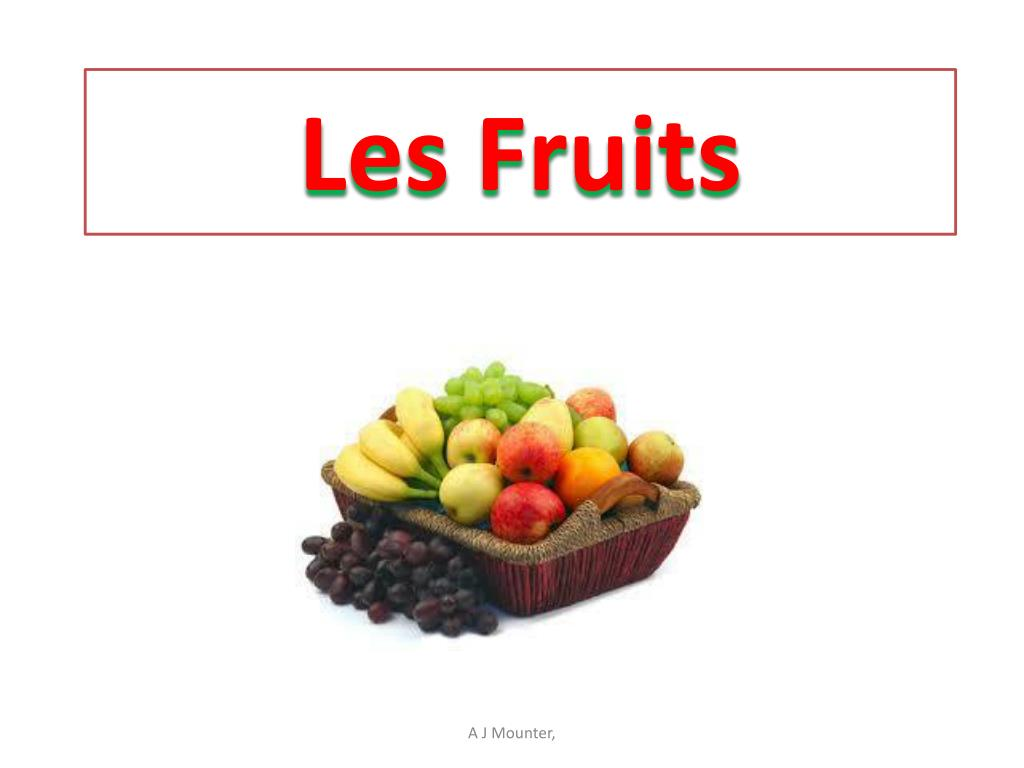 les fruits l.